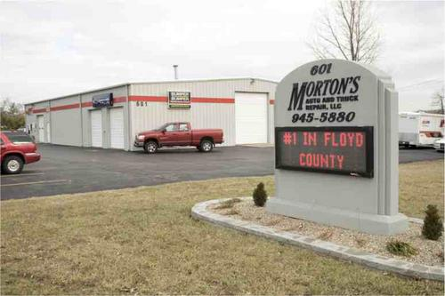 Morton's Auto Care storefront - Your local Auto Parts store in New Albany, INDIANA (IN)