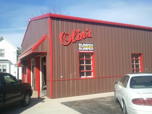 Olin's Auto Service storefront - Your local Auto Parts store in Milton, WISCONSIN (WI)