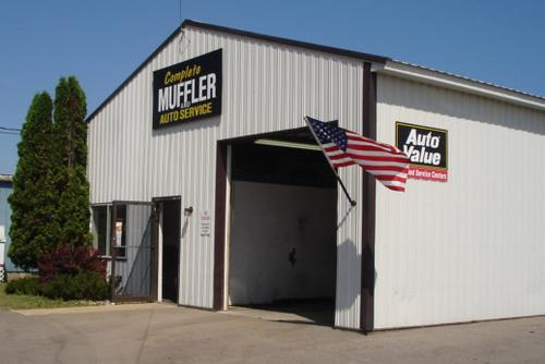 Complete Muffler storefront. Your local Auto-Wares, Inc in Charlevoix, MI.