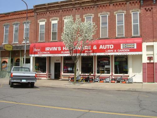 Irvin's Hardware & Auto storefront - Your local Auto Parts store in Homer, MICHIGAN (MI)
