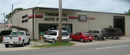 Thrower Auto Parts & Service storefront. Your local Tri-States Automotive Warehouse, Inc in Tuskegee, AL.