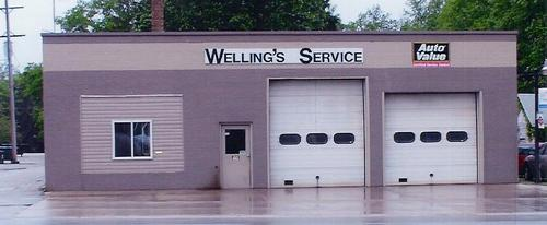 Wellings Service storefront. Your local Auto-Wares, Inc in Remus, MI.