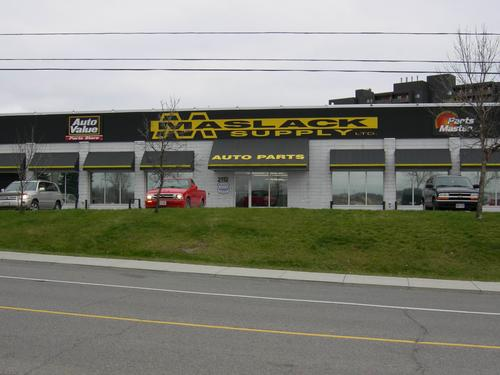 Maslack Four Corners storefront. Your local Maslack Supply Limited in Sudbury, .