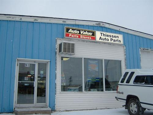 Thiessen Auto Parts storefront. Your local Piston Ring Service Supply in Thompson, .
