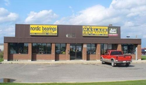 Maslack Timmins storefront. Your local Maslack Supply Limited in Timmins, .