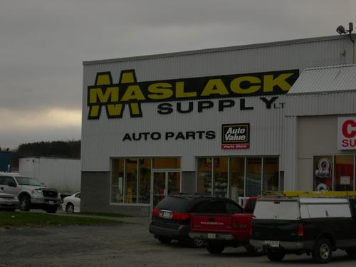 Maslack West End storefront. Your local Maslack Supply Limited in Sudbury, .
