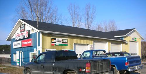 Lalande's Alignment storefront. Your local Maslack Supply Limited in Wahnapitae, .