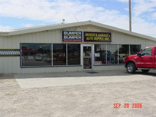 Moser's Garage & Auto Supply, Inc. storefront - Your local Auto Parts store in Tribune, KANSAS (KS)
