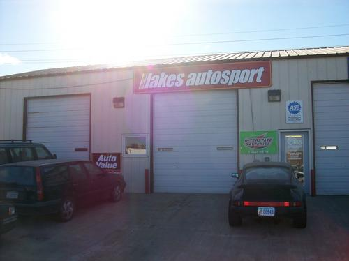 Lakes Autosport storefront. Your local The Merrill Co. in Spirit Lake, IA.