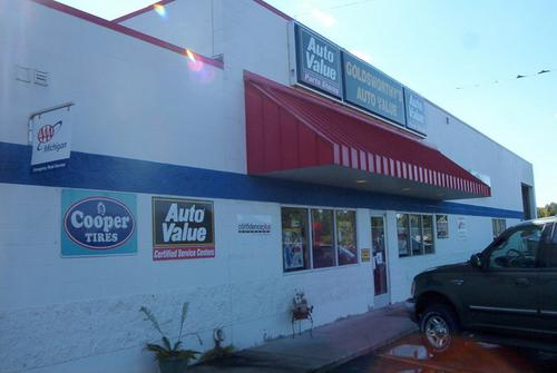 Goldsworthy's Auto Value storefront. Your local Auto-Wares, Inc in Dowling, MI.