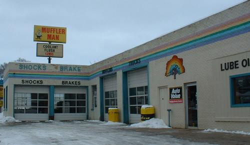 Muffler Man Big Rapids storefront. Your local Auto-Wares, Inc in Big Rapids, MI.