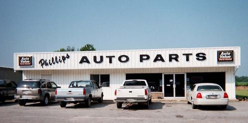Phillips Auto Parts storefront. Your local Tri-States Automotive Warehouse, Inc in Coquitt, GA.