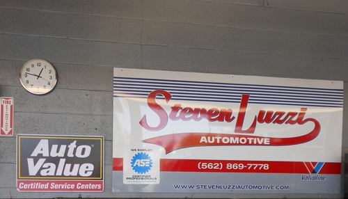 Steve's Luzzi Care & Smog, Inc. storefront. Your local Warren Distributing, Inc in Downey, CA.