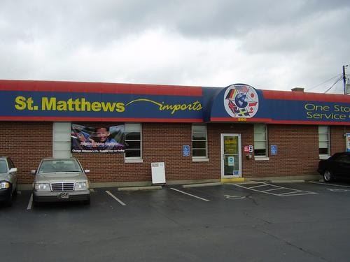 St Matthews Imports storefront - Your local Auto Parts store in Louisville, KENTUCKY (KY)