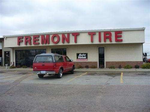 Fremont Tire storefront. Your local The Merrill Co. in Sioux City, IA.