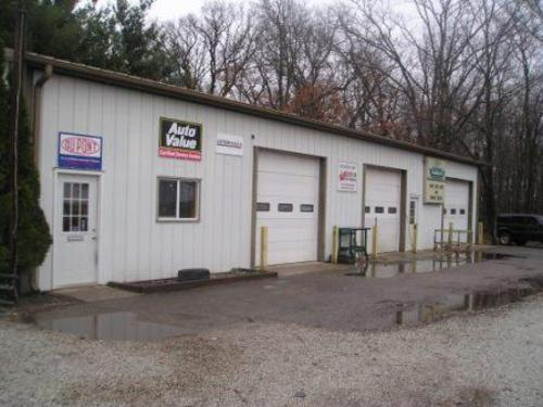 Dave's Body Shop storefront. Your local Auto-Wares, Inc in Walkerton, IN.