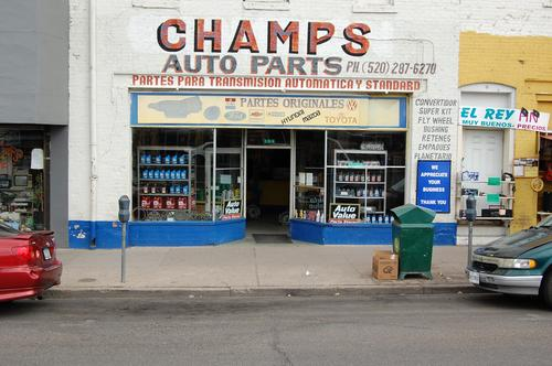 CHAMPS AUTO PARTS storefront. Your local Star Distributing in Nogales, AZ.
