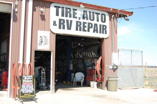 All Tire & Auto storefront. Your local Star Distributing in Willcox, AZ.