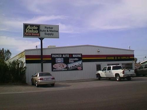 Parker Auto Parts storefront. Your local Star Distributing in Parker, AZ.