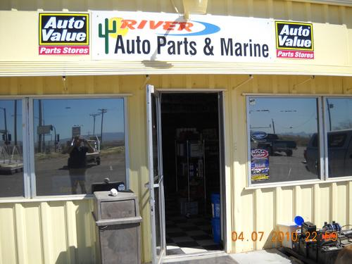 RIVER AUTO PARTS storefront. Your local Star Distributing in Mohave Valley, AZ.