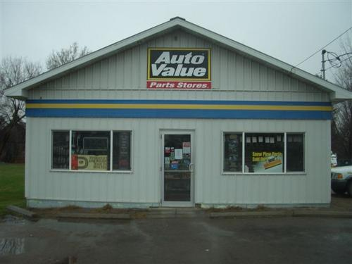 Adirondack Auto Parts storefront. Your local Hahn Automotive Warehouse in North Bangor, NY.