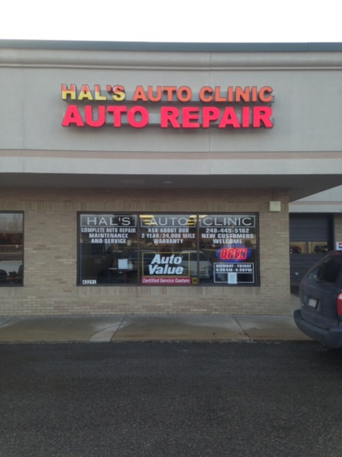 Hal's Auto Clinic Northville storefront. Your local Auto-Wares, Inc in Northville, MI.
