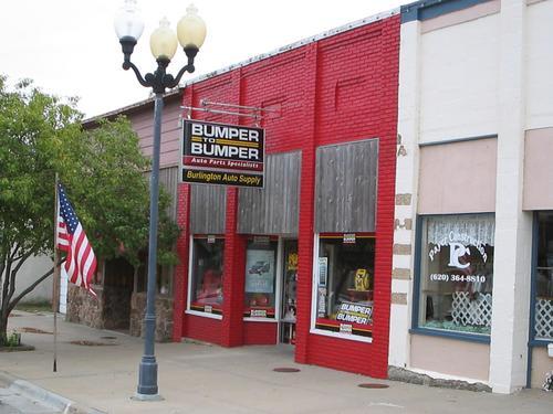 Burlington Auto Parts storefront - Your local Auto Parts store in Burlington, KANSAS (KS)