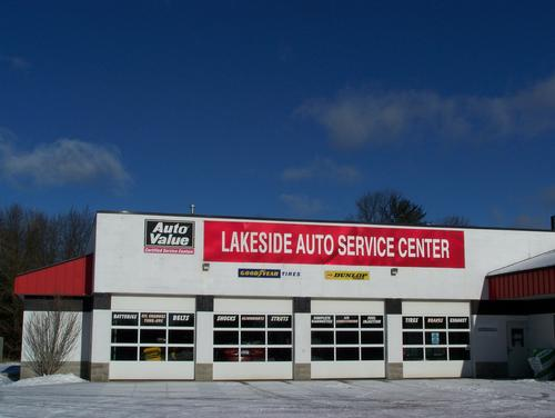 Lakeside Auto Service Center storefront. Your local Auto-Wares, Inc in Spring Lake, MI.