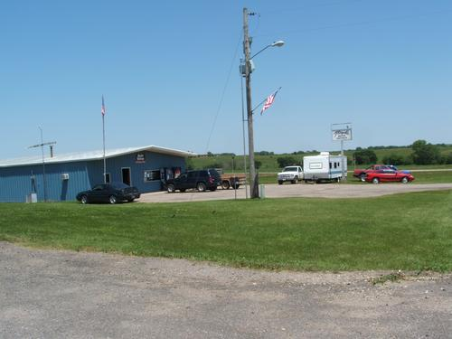 Floyds Auto Repair storefront. Your local The Merrill Co. in Hanover, KS.