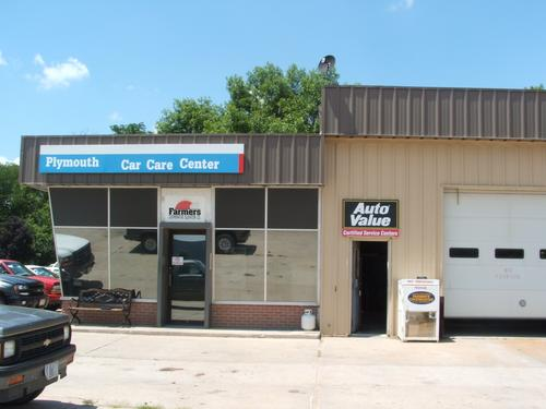 Pony Express Service Center storefront. Your local The Merrill Co. in Hanover, KS.