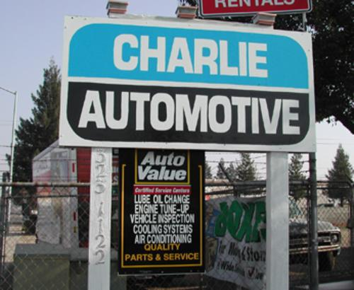 Charlie's Automotive storefront. Your local Smith Auto Parts in Clovis, CA.
