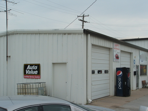 Chappy's Auto Maintenance storefront. Your local The Merrill Co. in Hastings, NE.