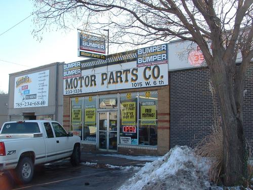 Motor Parts Co. storefront - Your local Auto Parts store in Topeka, KANSAS (KS)