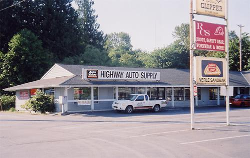 Auto Supply storefront. Your local Performance Warehouse in Monroe, WA.