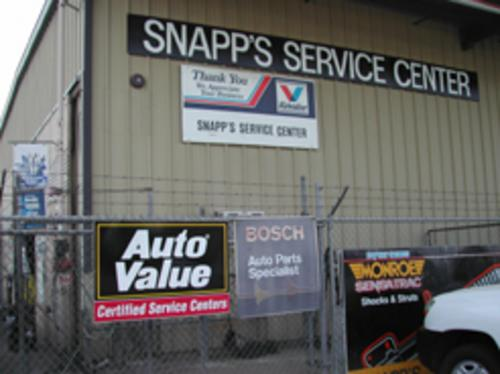 Snapps Service Center storefront. Your local Smith Auto Parts in Fresno, CA.