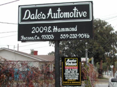 Dale's Automotive storefront. Your local Smith Auto Parts in Fresno, CA.