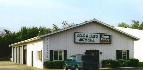 Doug and Don's Auto Care storefront. Your local Auto-Wares, Inc in Hudsonville, MI.