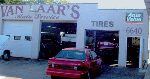 Van Laar's Auto Service storefront. Your local Auto-Wares, Inc in Grand Rapids, MI.