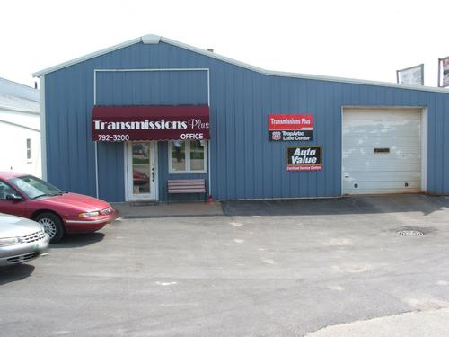Transmission Plus storefront. Your local The Merrill Co. in Colona, IL.