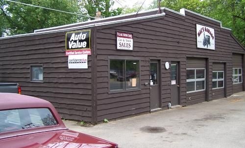 Macs Garage storefront. Your local Auto-Wares, Inc in Richland, MI.