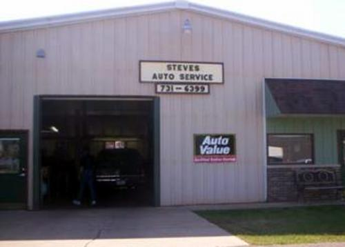 Steve's Auto Service storefront. Your local Auto-Wares, Inc in Gaylord, MI.
