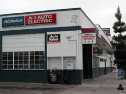 A-1 Auto Electric storefront. Your local Smith Auto Parts in Fresno, CA.