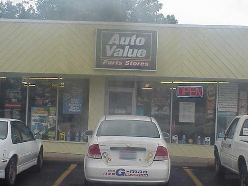 Genuine Auto Parts storefront. Your local Hahn Automotive Warehouse in Beavercreek, OH.