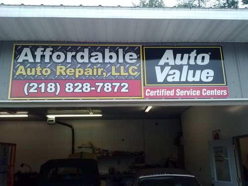 Affordable Auto Repair storefront. Your local AutoParts HeadQuarters, Inc in Merrifield, MN.