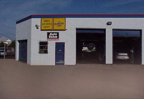 Weber's Automotive Service storefront. Your local Hahn Automotive Warehouse in Dayton, OH.