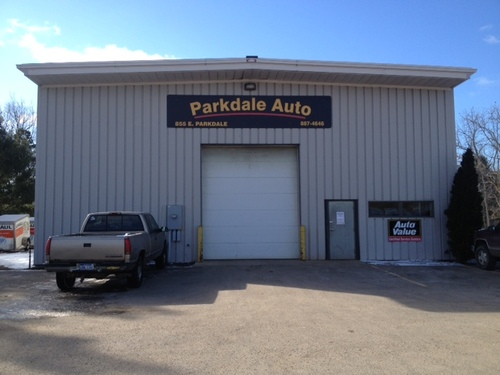 Parkdale Auto storefront. Your local Auto-Wares, Inc in Manistee, MI.