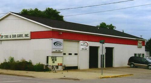 DP Tire Service storefront. Your local Auto-Wares, Inc in Big Rapids, MI.