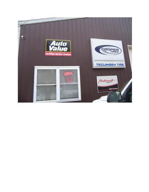 Tecumseh Tire storefront. Your local Auto-Wares, Inc in Tecumseh, MI.