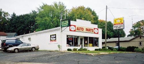 Parts Peddler storefront. Your local Auto-Wares, Inc in Dexter, MI.