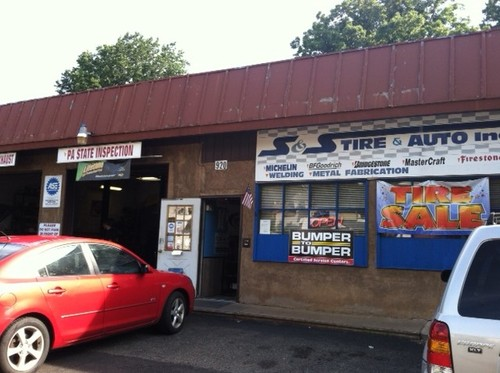 S & S Tire and Auto storefront - Your local Auto Parts store in Oakford, PENNSYLVANIA (PA)
